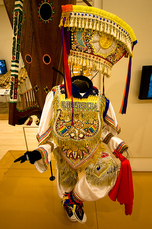 Costume on display at the Musical Instrument Museum in Phoenix, Arizona