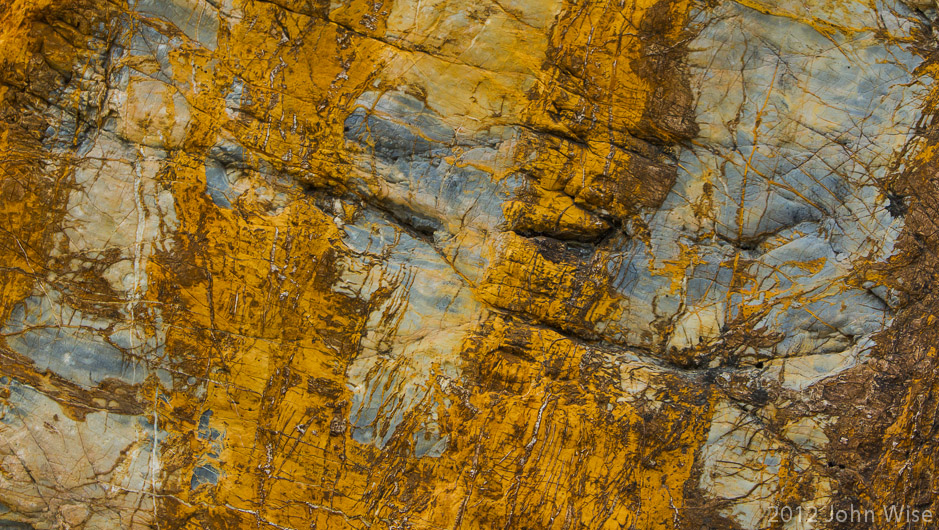 Rock details in the Tatshenshini-Alsek Provincial Park British Columbia, Canada