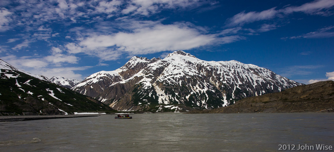 Mount Blackadar in Tatsheshini-Alsek Provincial Park in British Columbia, Canada