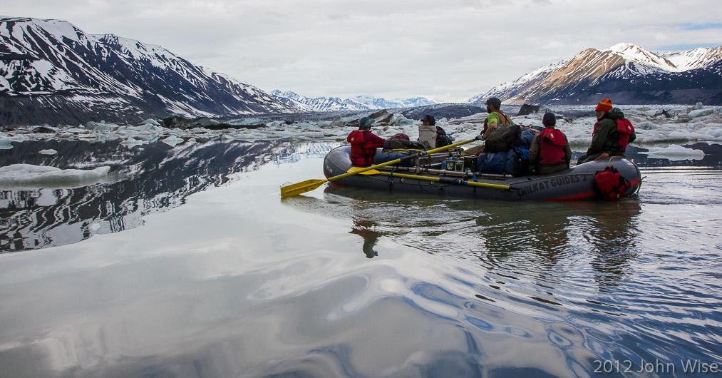 Leaving Lowell Lake in Kluane National Park Yukon, Canada