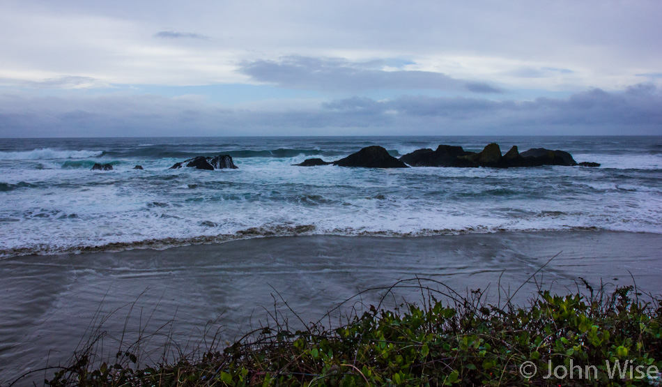 South of Newport, Oregon on the coast