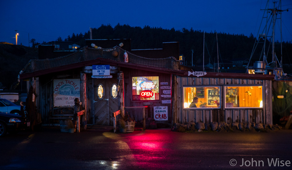 Griff's On The Dock - restaurant in Port Orford