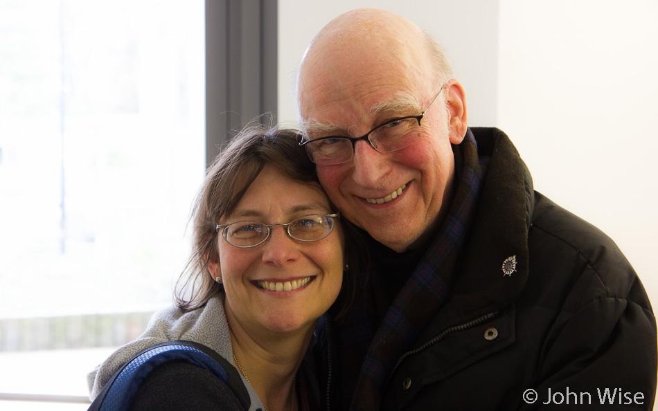 Caroline Wise and Hanns Engelhardt in Karlsruhe, Germany