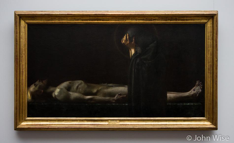 Pietá by Franz Von Stuck in the Städel Art Museum Frankfurt, Germany