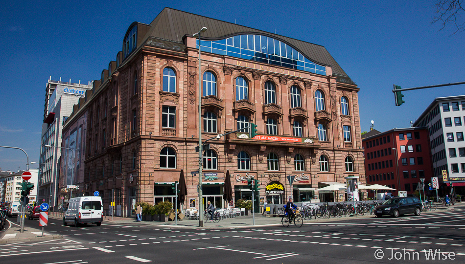 The former Volksbildungsheim in Frankfurt, Germany