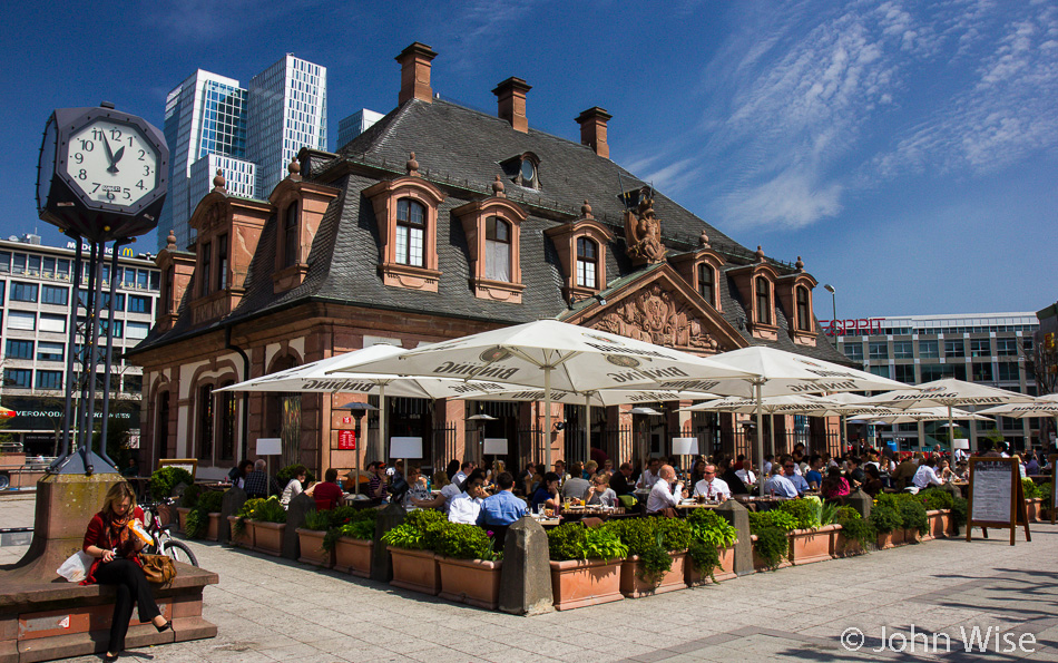 Hauptwache Cafe in Frankfurt, Germany
