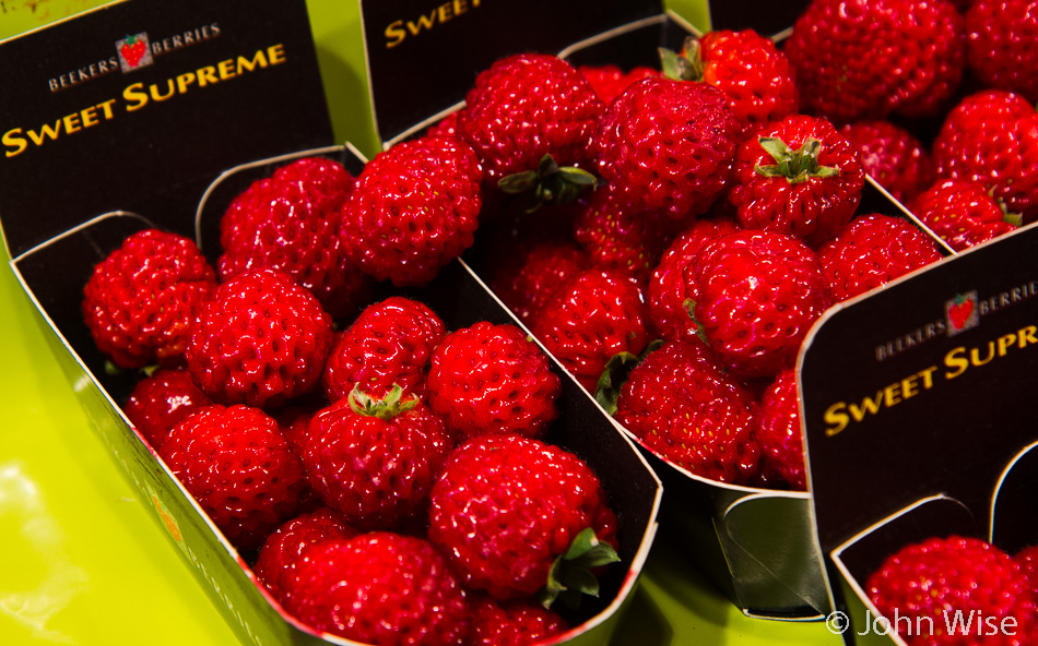 An old variation of the strawberry available in Germany