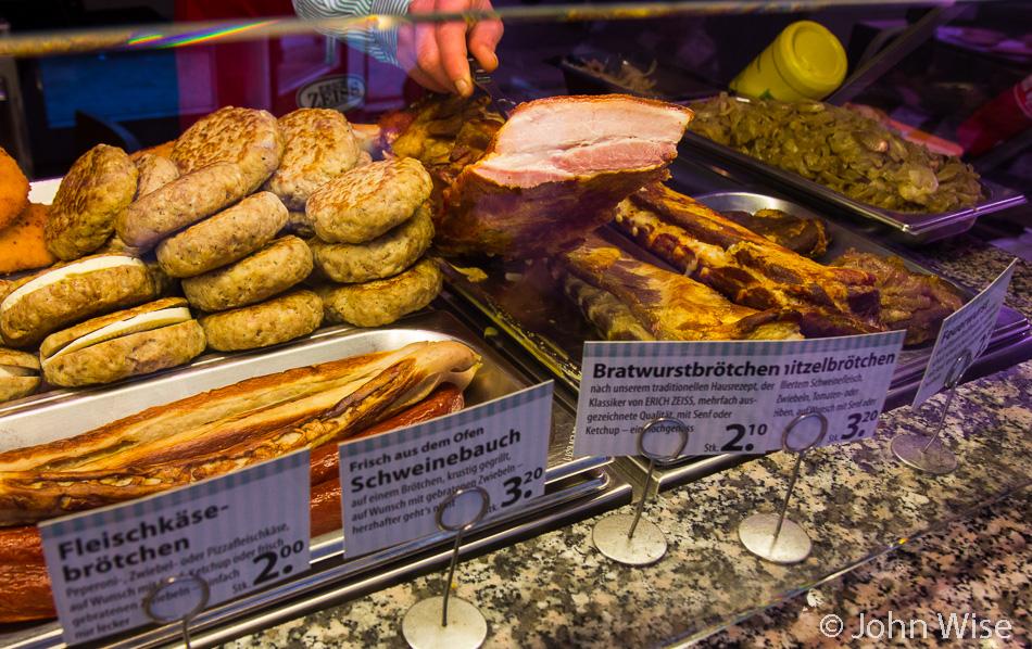 Pork belly in Frankfurt, Germany