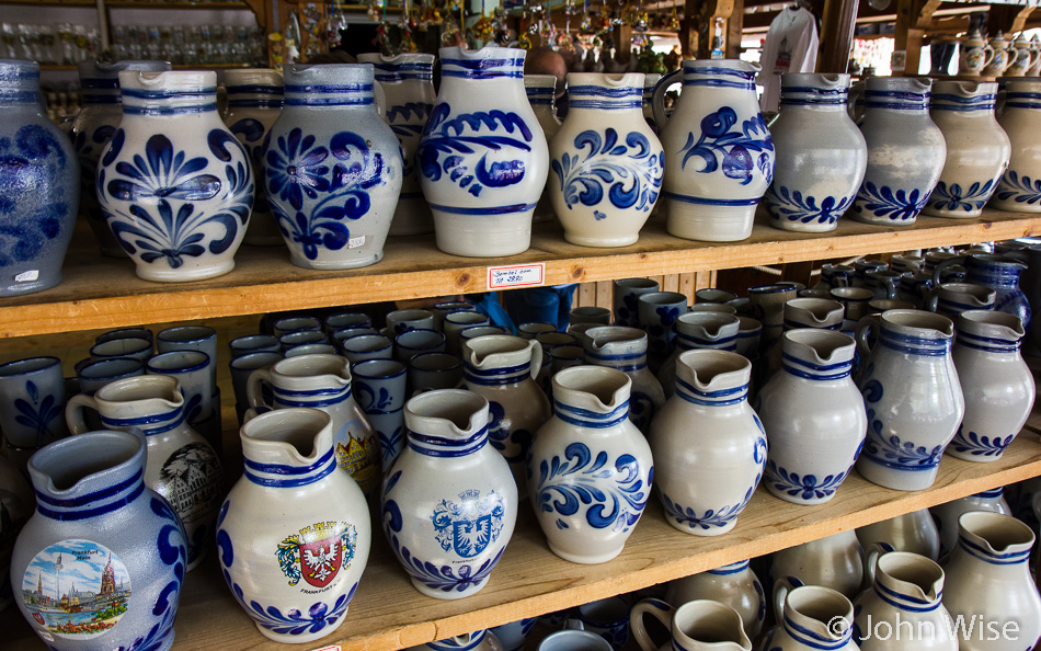A Bembel (apple wine jug) shop in Frankfurt, Germany