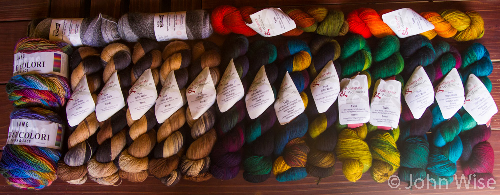 Yarn collected in Germany