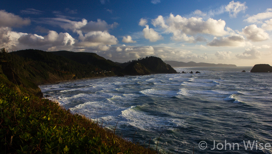 Out on the Three Capes scenic area near Tillamook, Oregon