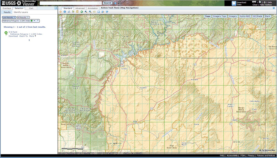 The USGS National Map