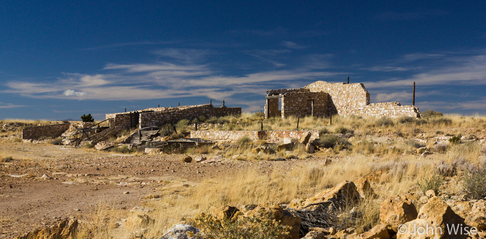 Ruins at Two Guns, Arizona