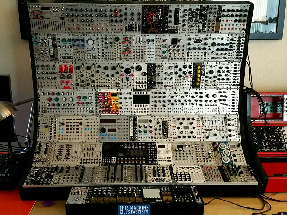 The Cold Eurorack Monster Rig