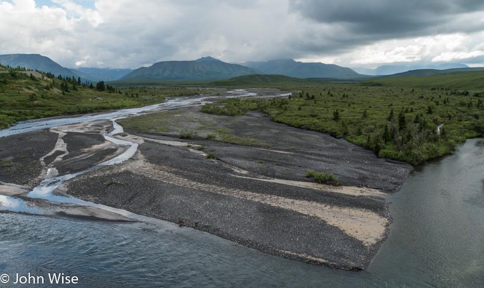 Savage River at Danali National Park in Alaska