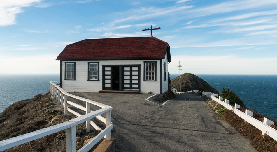 The carpentry and blacksmith shop at Point Sur Light Station