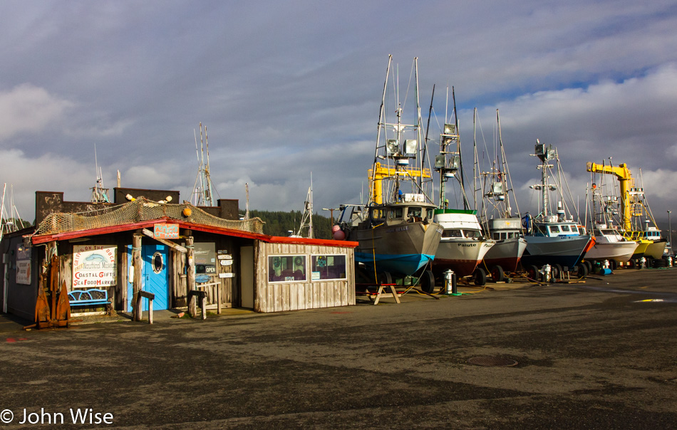 Griff's On The Dock in Port Orford, Oregon